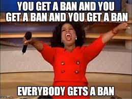 Oprah meme ban