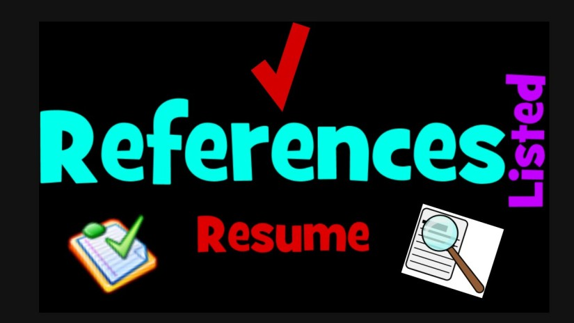 References in Resume – All You Need to Know to getRecommended